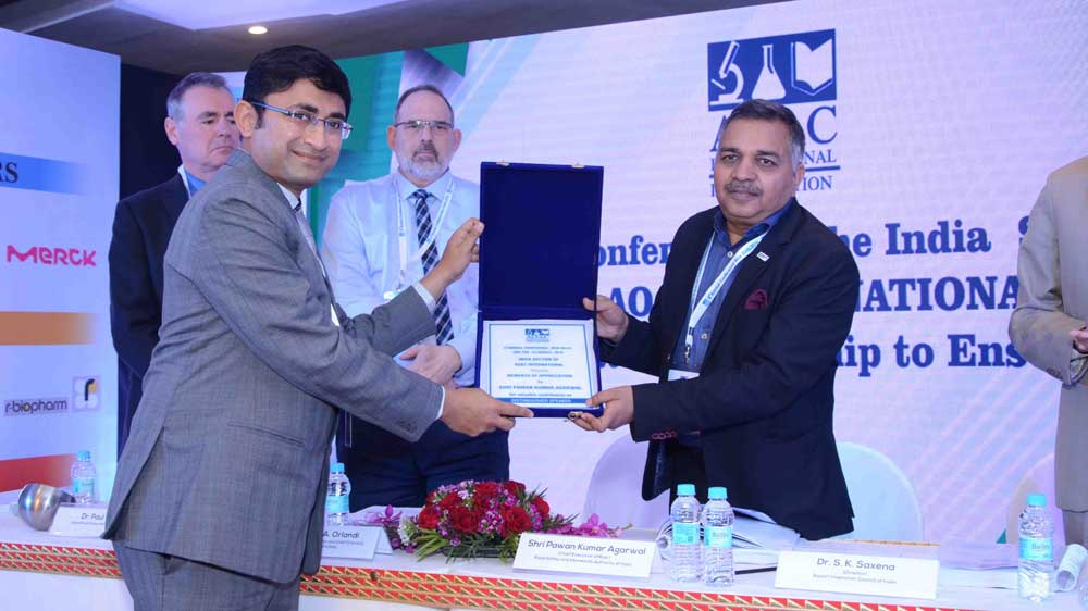 6th AOAC-India's annual Conference Towards Collaborative Leadership to Ensure Food Safety commenced