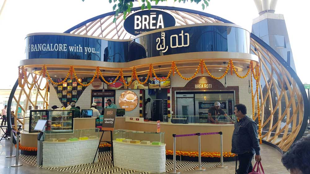 Bakery brand Brea opens at Kempegowda International Airport