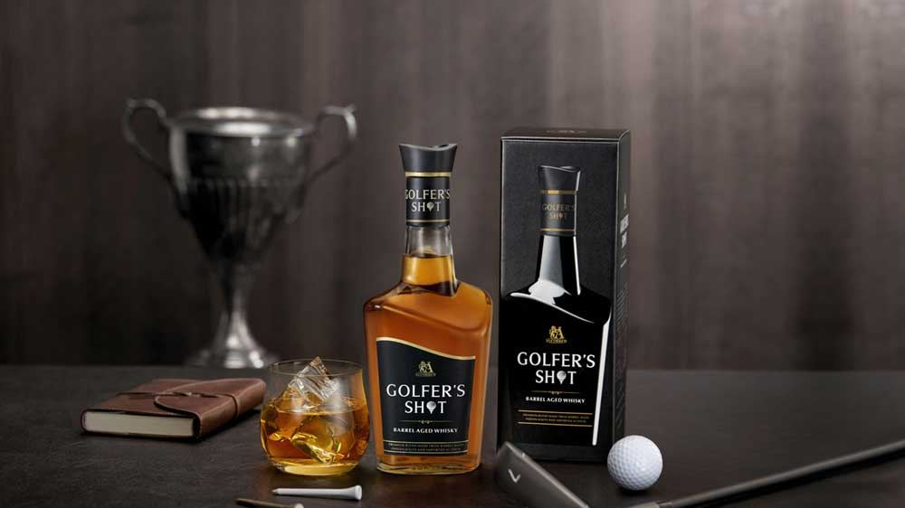Golfer Shot Whisky's limited edition pack launched by Alcobrew Distilleries