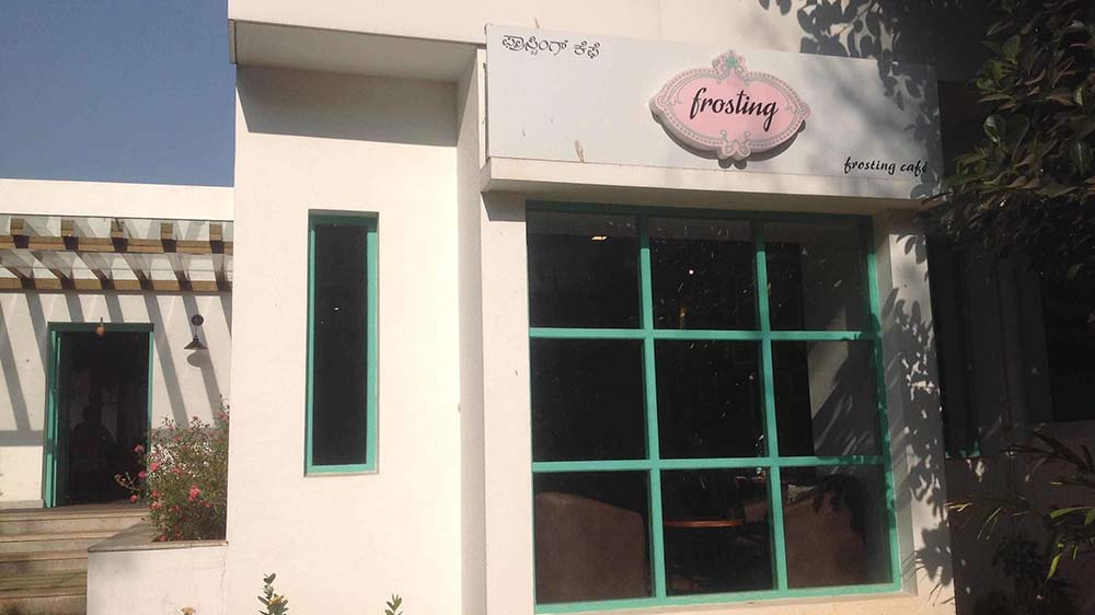 "Frosting introduces ""Indian Fusion Food"""
