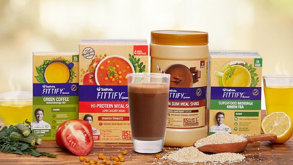 Marico brings green tea & green coffee under Saffola Fittify range