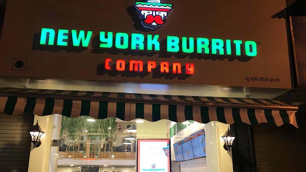 New York Burrito Company opens its new outlet in Kamala Mills, Mumbai