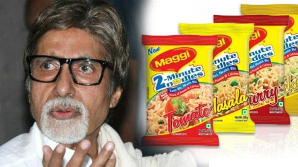 Amitabh Bachchan seeks dismissal of complaint filed for Maggi Ad