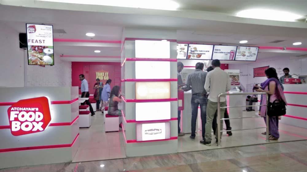 Atchayam Foodbox serves in 90 secs