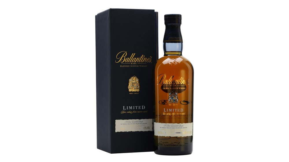 Ballentines whisky unveils limited edition in India