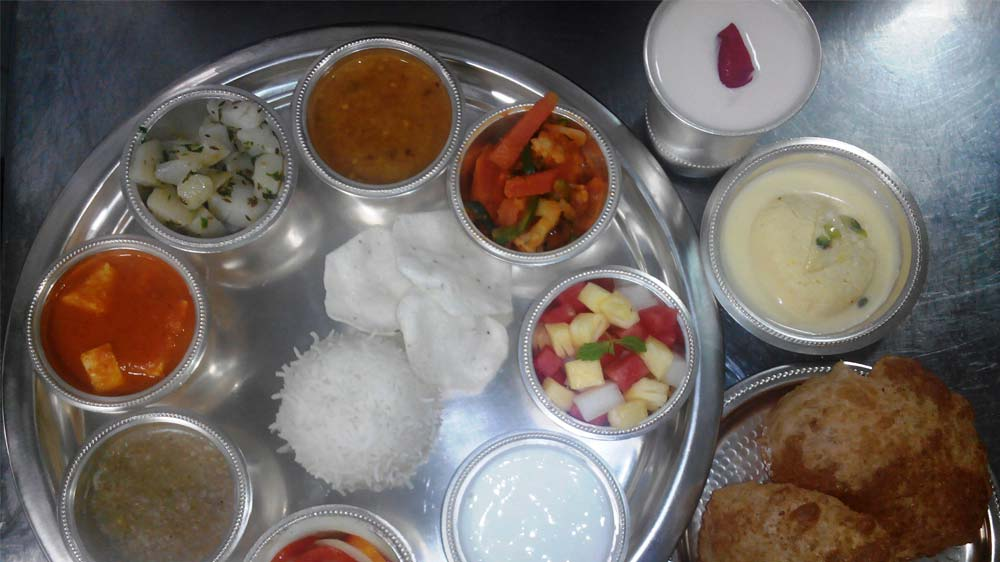 Celebrate the Navratri special food fiesta at The Ancient Barbeque