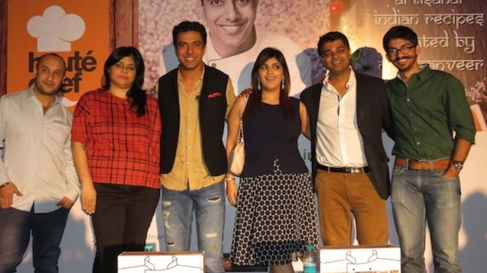 Celebrity Chef Ranveer Brar and Haute Chef launched first Artisian Indian meal-kit line