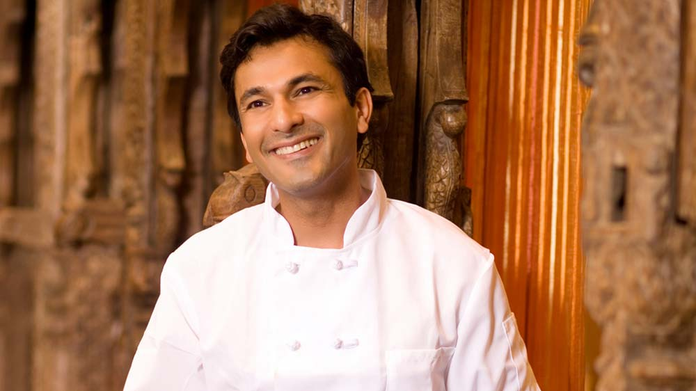 Chef Vikas Khanna launches his book at Cannes