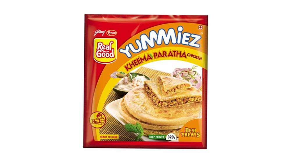 Chicken Kheema Paratha by Godrej Tyson