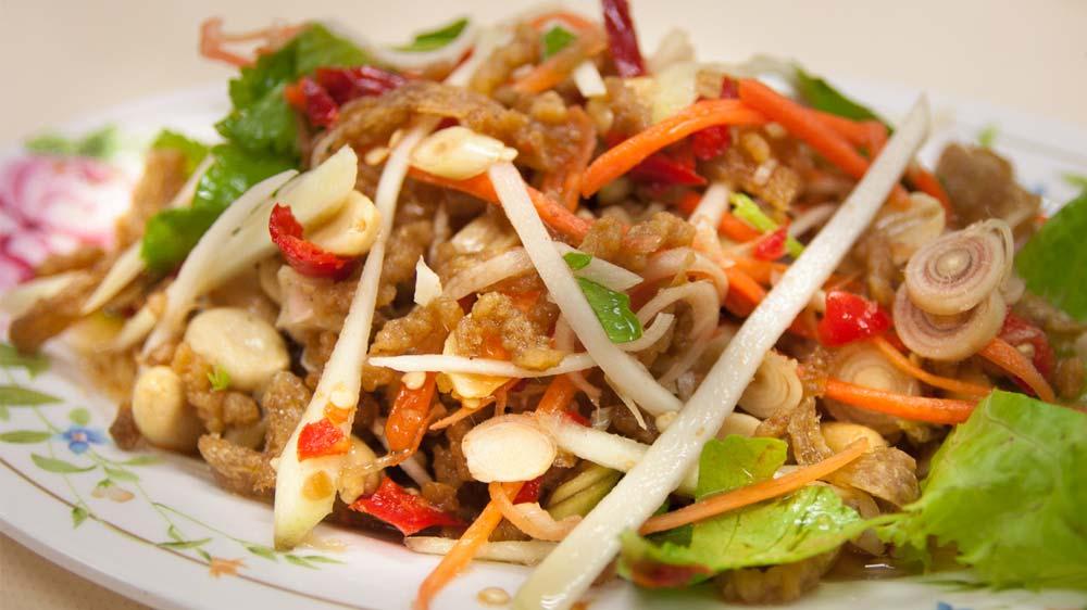 Chinese vegetarian salad at Royal China
