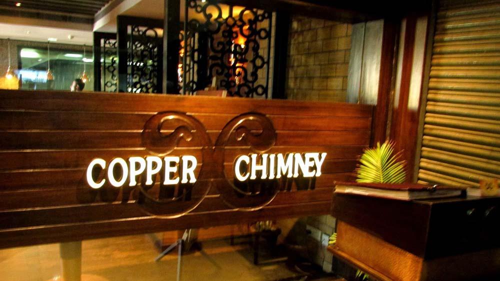 Copper Chimney bags Award