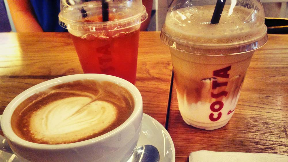 Costa Coffee launches its Festive Season menu