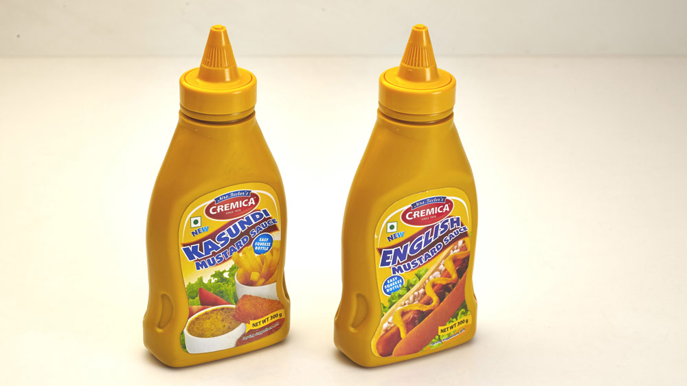 Cremica launches new range of mustard sauces