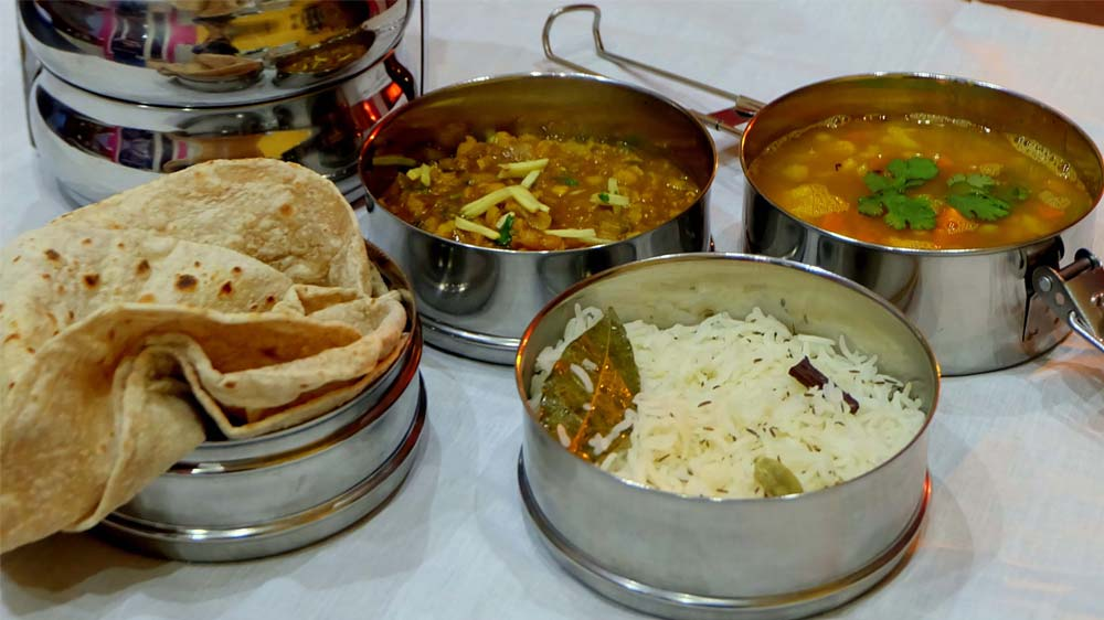 Dabba lunch by Stomp