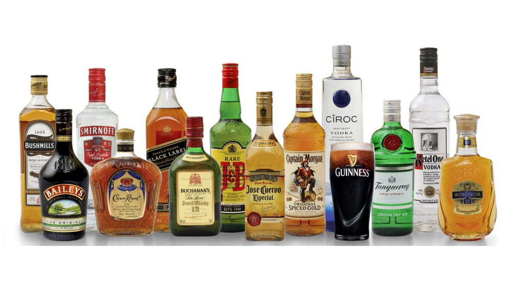Diageo's market share increases