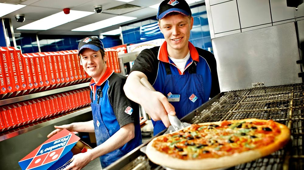 Domino's opens Pizza Theatre restaurant