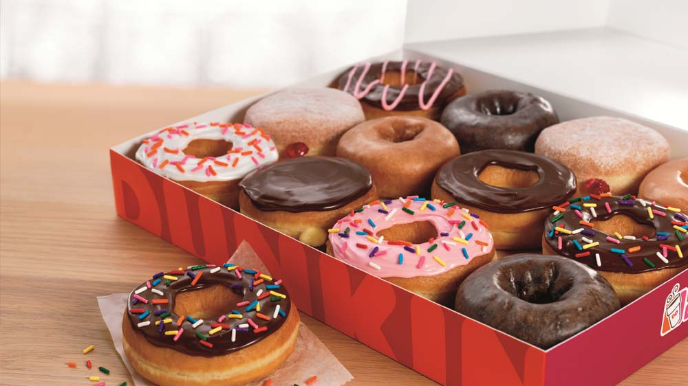 Dunkin\' Brands sales rose by 38.5%