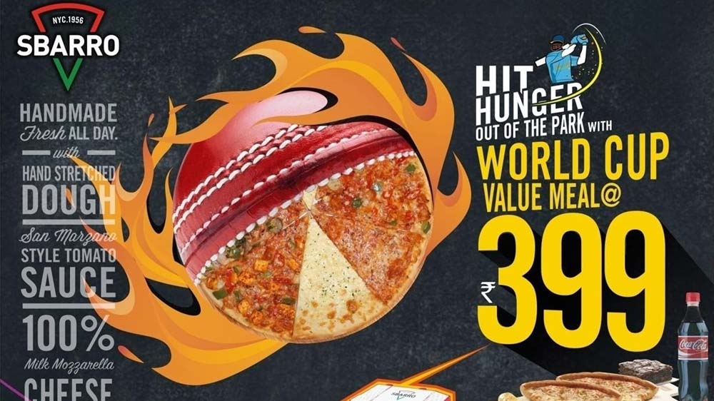 Feast on Sbarro's 'World Cup Value Meal' @ Rs 399