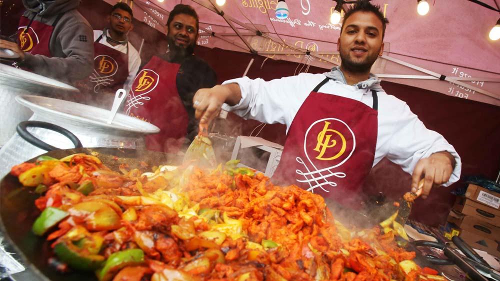 Food festival at Saffron