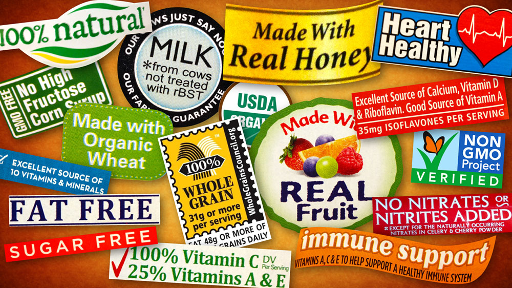 Confusing Food Labels To Be Cut Down