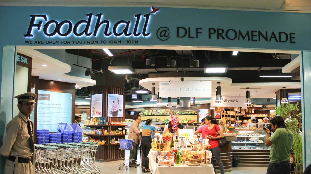 Gift hampers at Foodhall