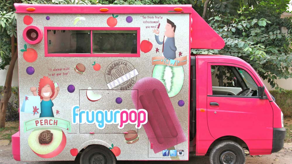 Gurgaon to get first popsicles on Wheels- Frugurpop
