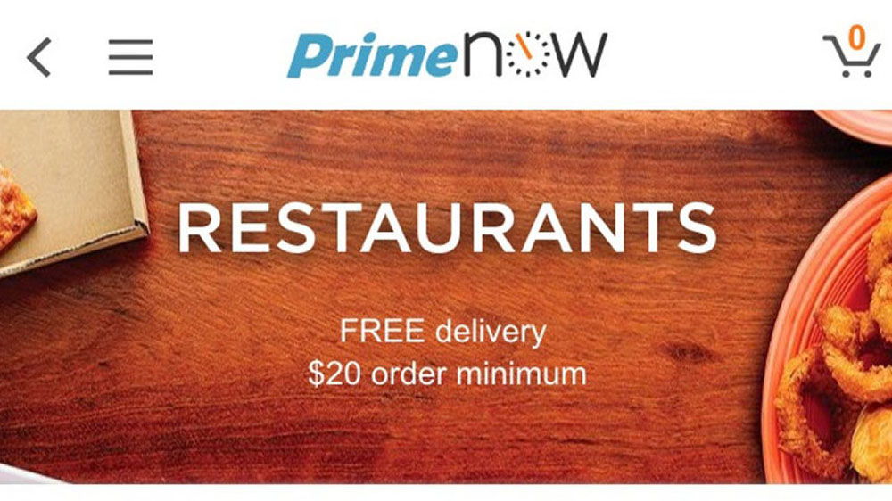 Amazon To Boost Restaurant Delivery Service