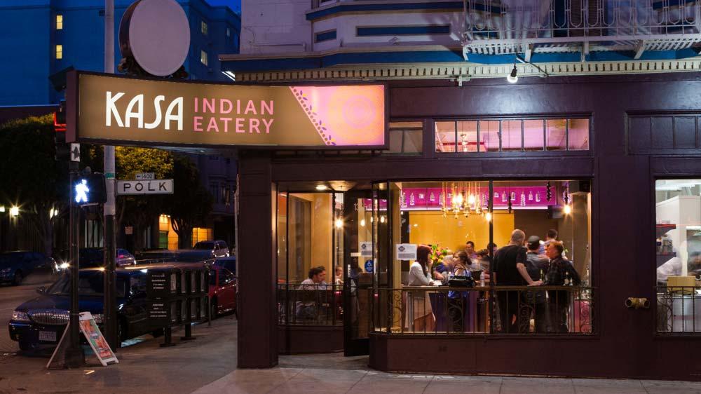 Kasa, Indian Eatery at Polk Street now