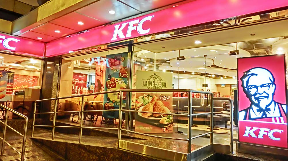 KFC partners with Huawei to release its limited edition smartphone in China