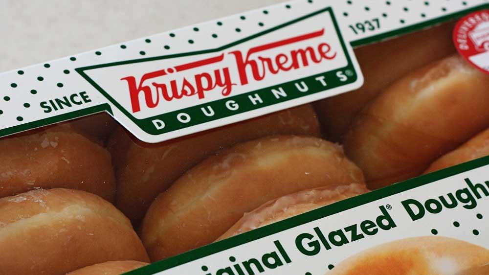 Krispy Kreme brings Valentine cheer