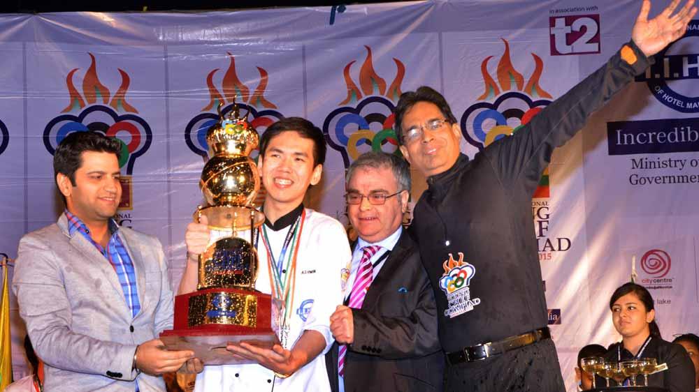 Malaysia won World\'s 1st International Young Chef Olympiad title