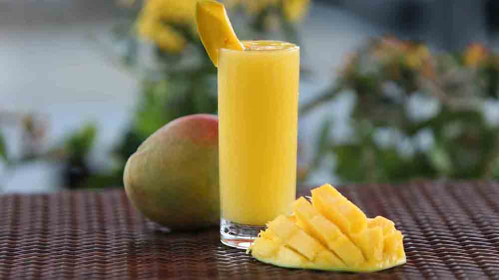 how to make mango juice in hindi