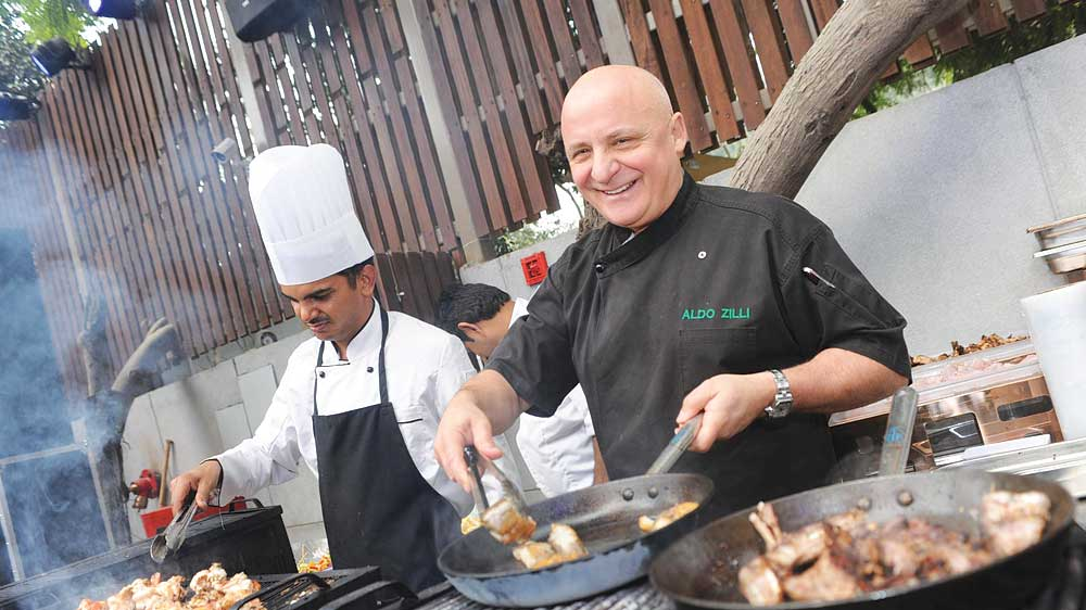 Master classes by chef Zilli