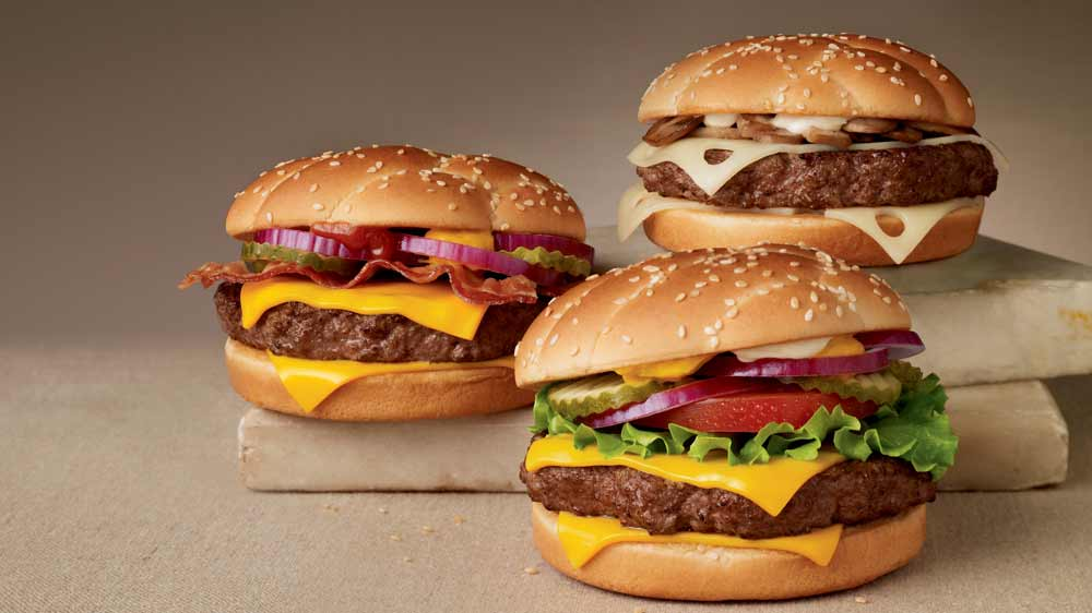 McDonald's launches sirloin burgers in the US