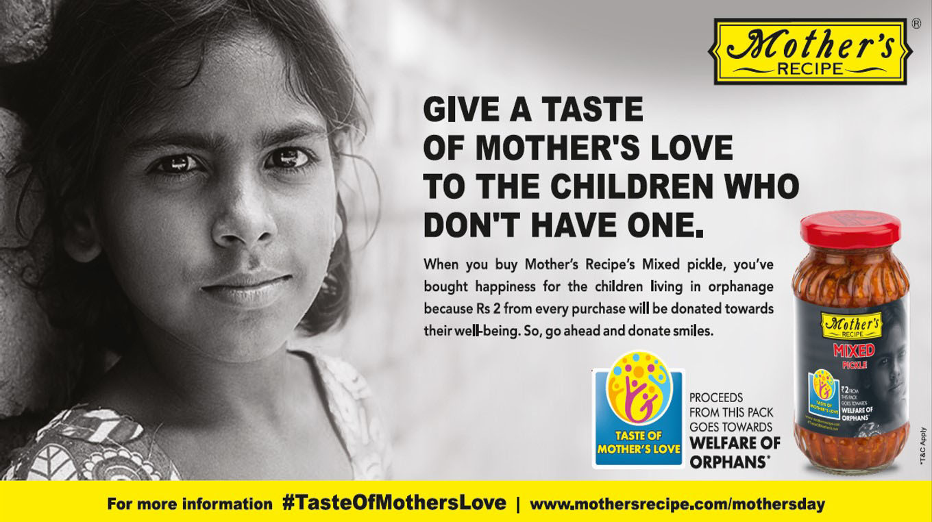 Mother's Recipe campaigns for Mother's Day with #TasteOfMothersLove