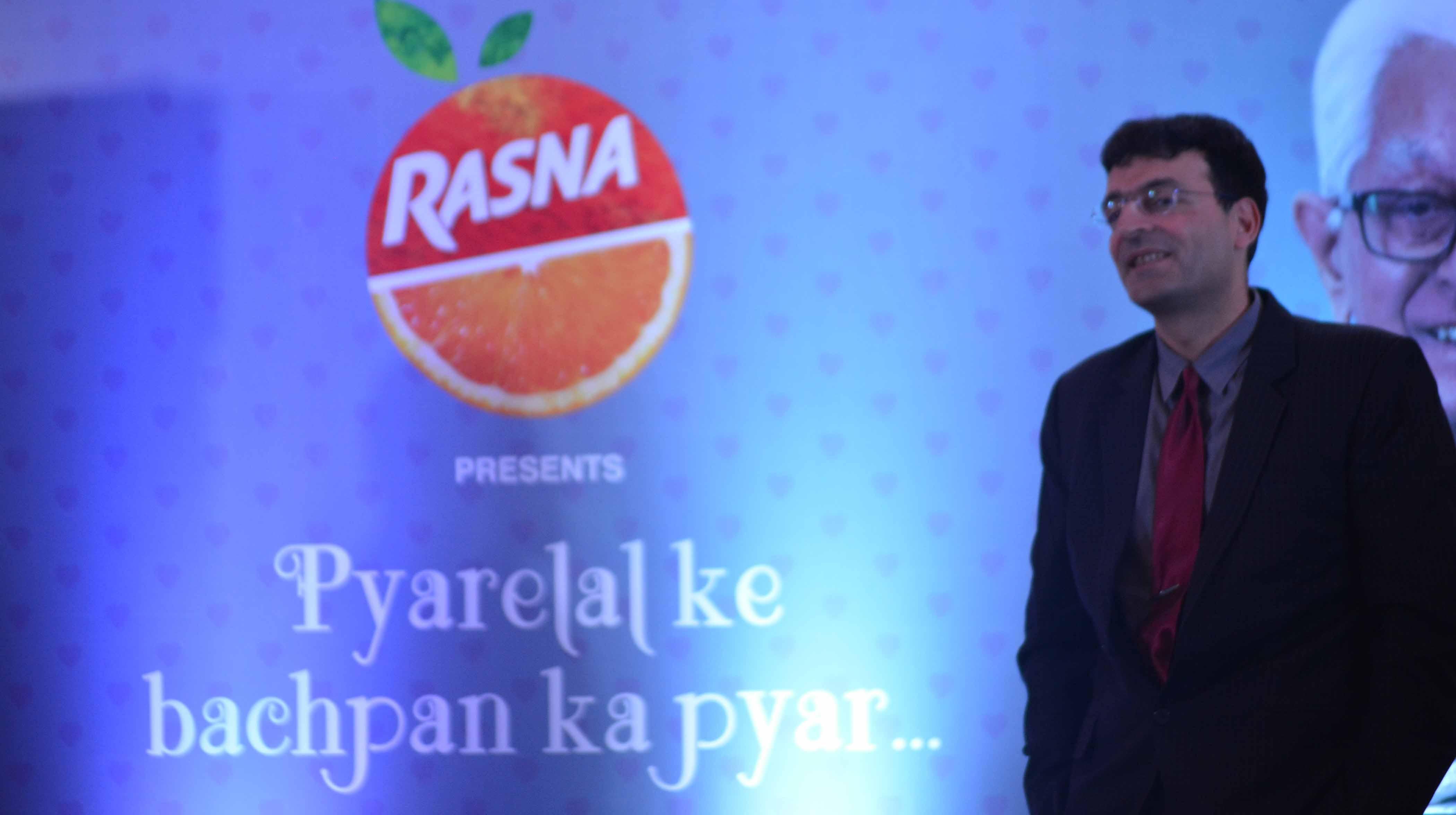 Rasna introduces new ad campaign 'Pyarelal Ka Bachpan Ka Pyar'