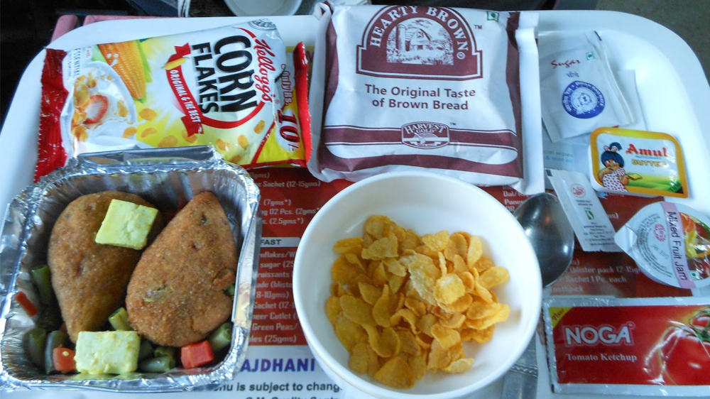 KOSH Oats for Rajdhani, Shatabdi travellers