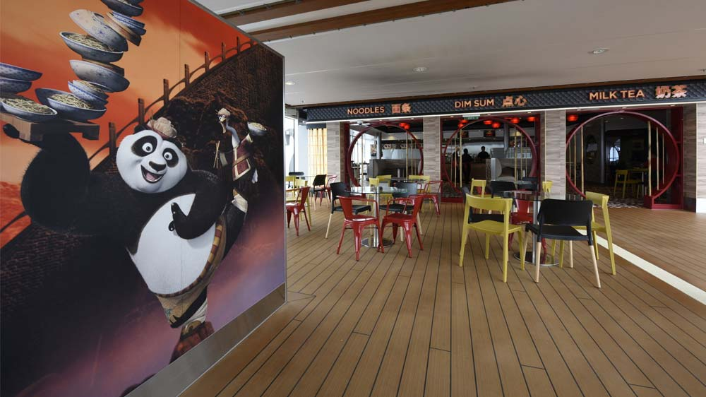 Royal Caribbean opens World's first Kung Fu Panda noodle shop on the sea