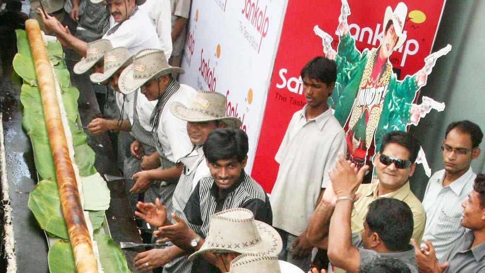 Sankalp Group Prepares 53 ft Dosa
