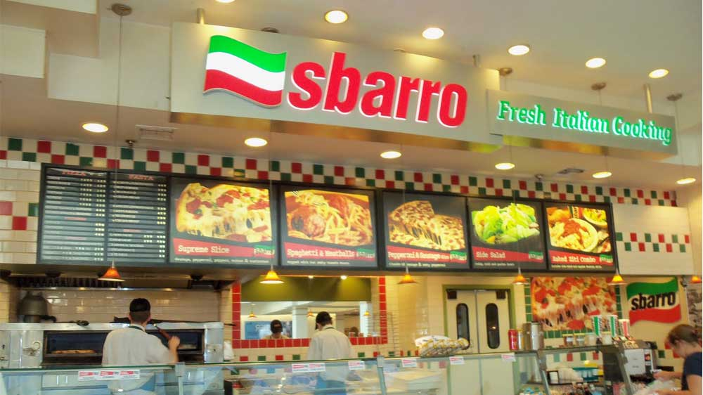 Sbarro to open 20 outlets in India by 2016 end