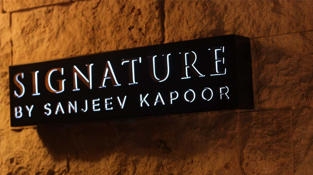 Signature by Sanjeev Kapoor enters Doha