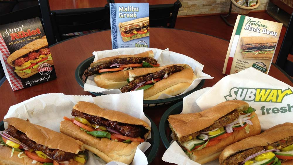 Subway auctioned sandwich for underprivileged