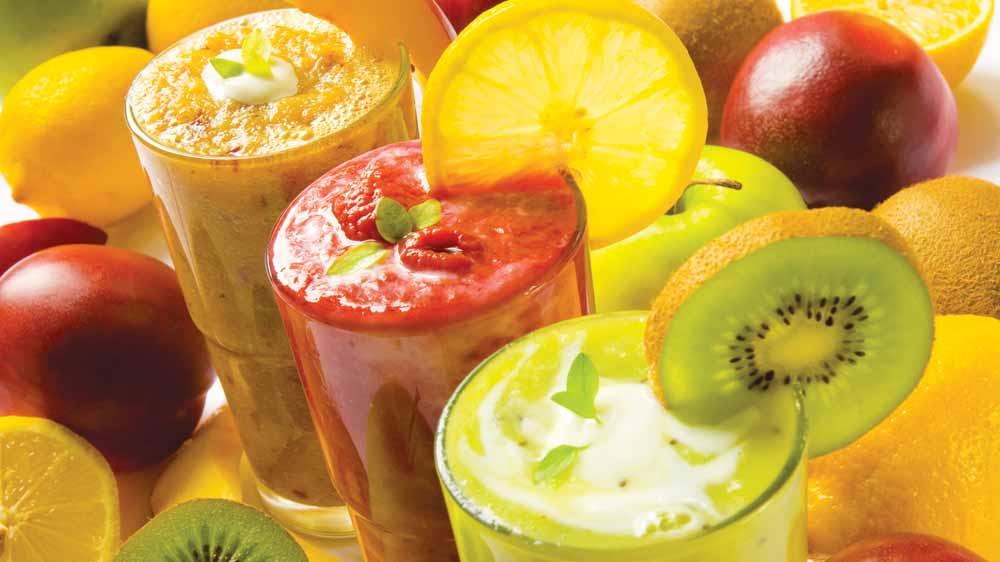 Summer smoothies at Rrala's Habibi