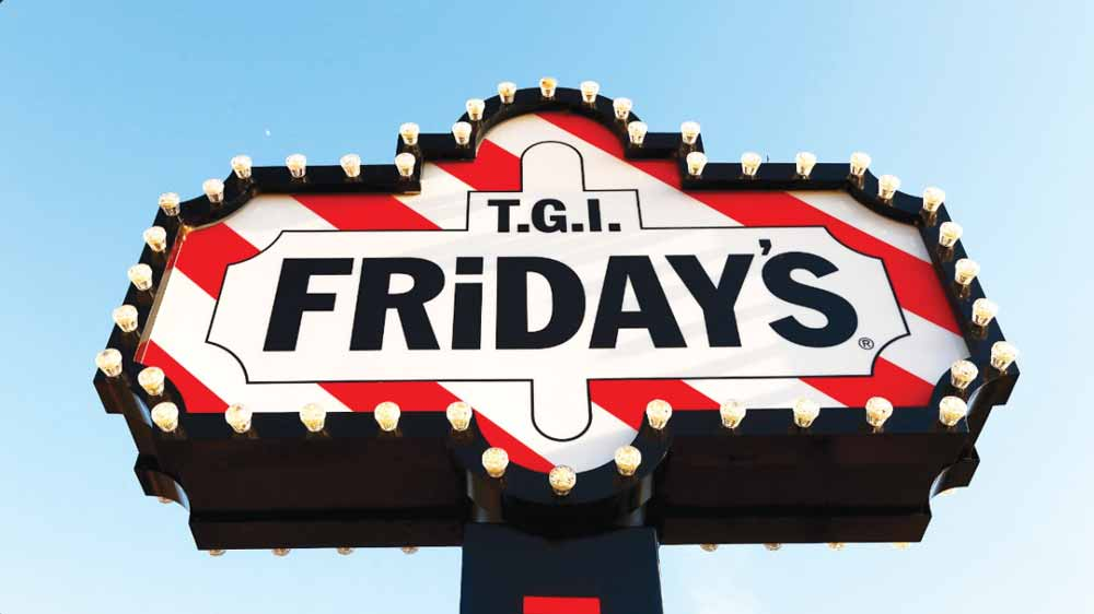 TGI Fridays to expand in metros