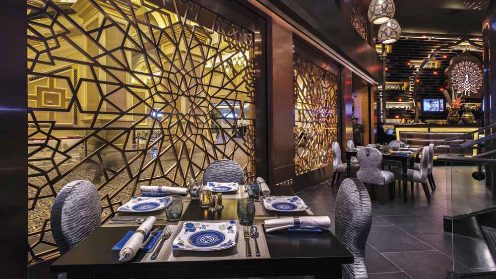 The Golden Peacock brings fresh menu