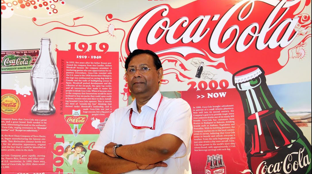 Coca-Cola India's President T Krishnakumar quits