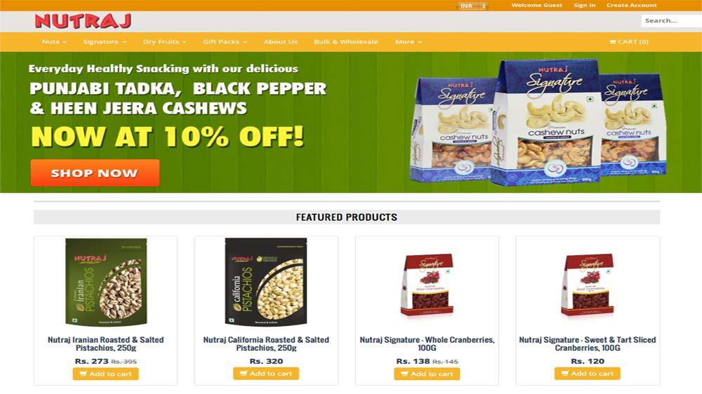 VKC Nuts launches online store Nutraj.com
