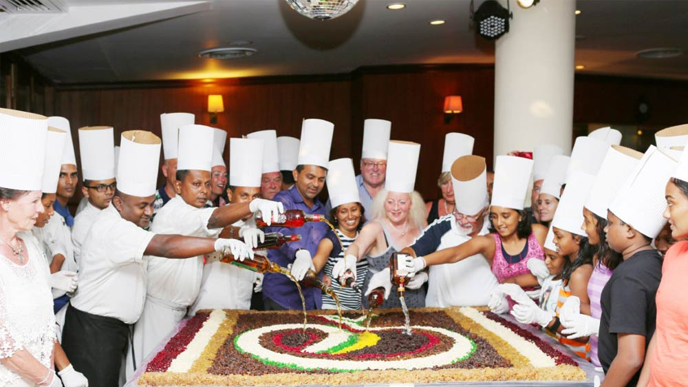 With Christmas on its way, Fresc Co hosts Cake mixing ceremony