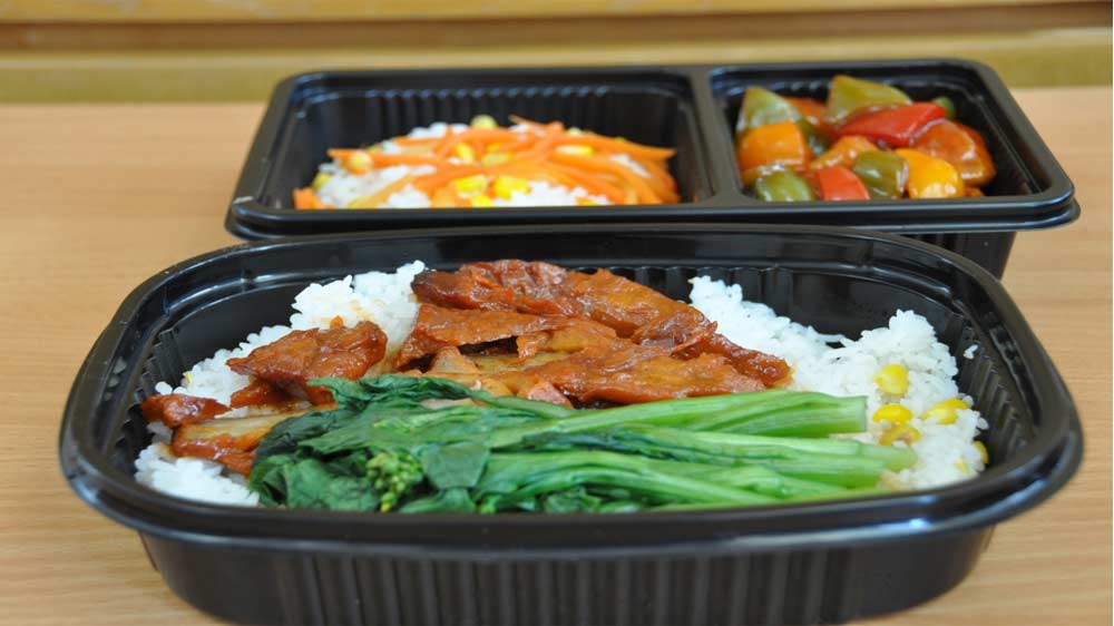 Woks Delivers 'The Square Meal Box'