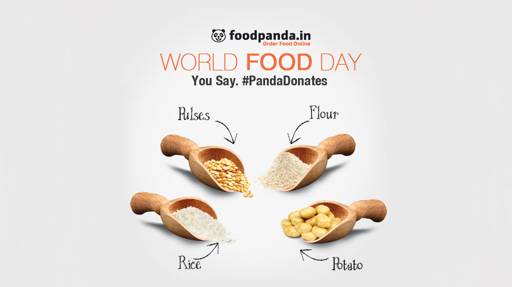 World Food Day: Foodpanda.in associates with Sakshi NGO to donate food to needy